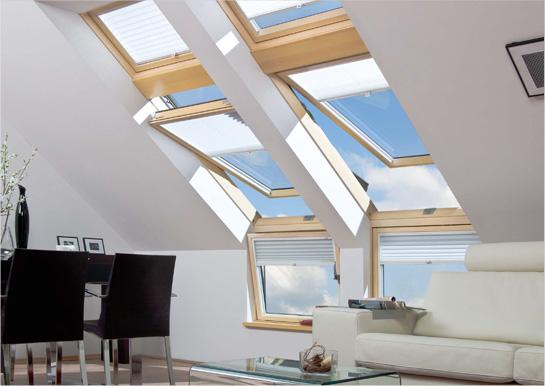 חלונות לגגות רעפים